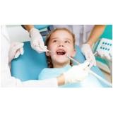 onde encontro dentista para criança Parque Arariba